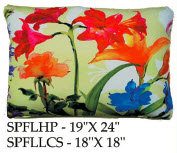 Spring Flowers Pillow, SPFL1, 2 sizes