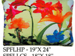 Spring Flowers Pillow, SPFL1, 2 sizes