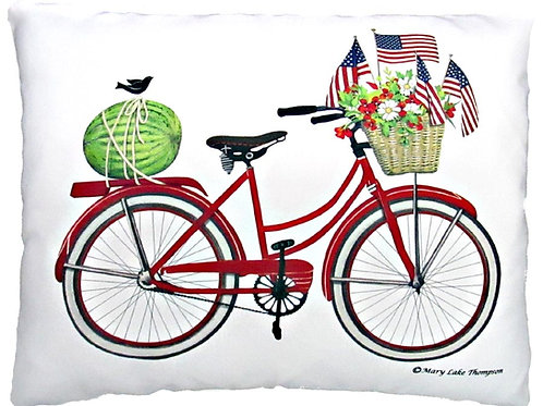 MLT909, Patriotic Bicycle, 2 sizes