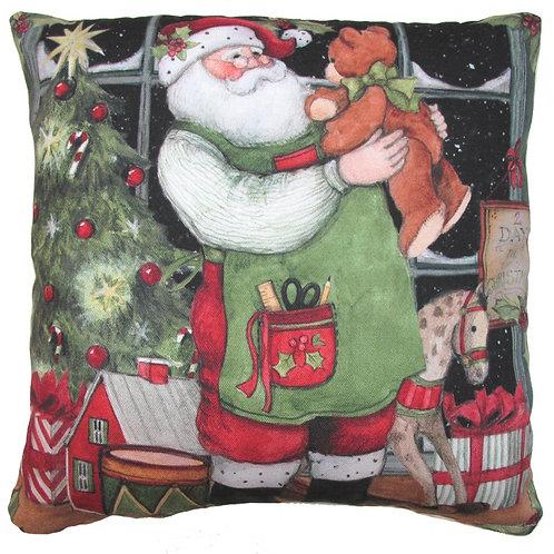 Santa Pillow 3, SWTBLLCS, 18x18