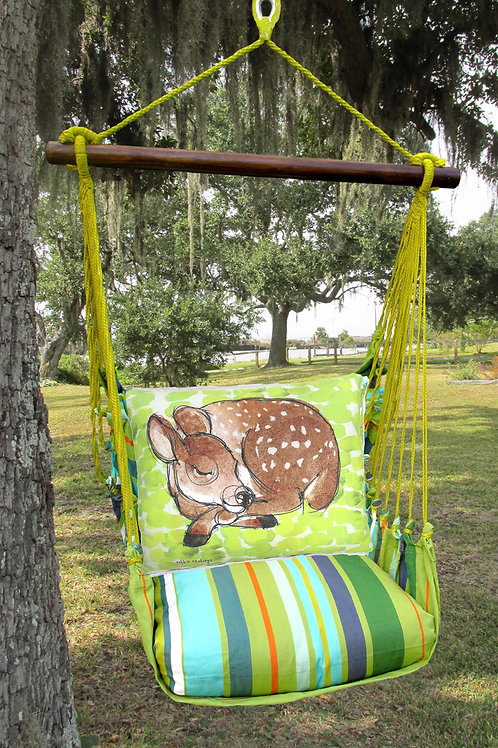 Sleeping Fawn Swing Set, CTRR906-SP