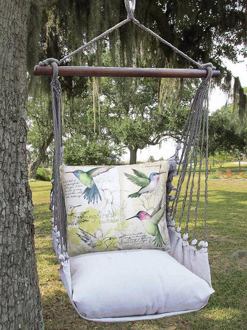 LT Swing Set w/ Hummingbirds, LTSW704-SP