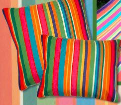 Le Jardin Fabric Pillow, LJ119CL, 24x24