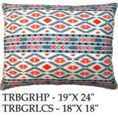 Tribal Pillow, TRBGR, 2 sizes