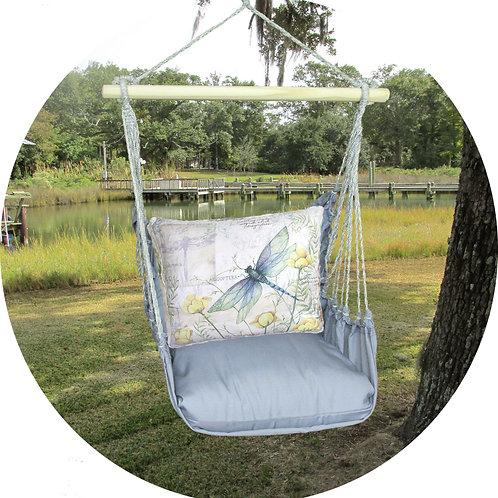 Dragonfly Swing Set w/ Gray, GRSW802-SP
