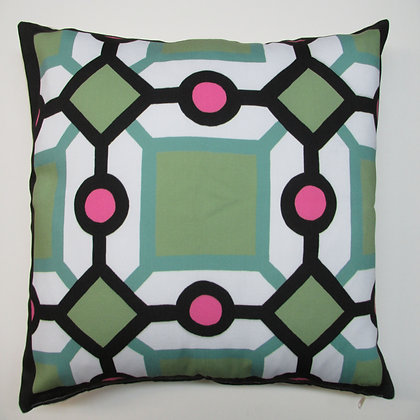 "Geometric 1 Pillow, G1DM, 19""x24"" only"