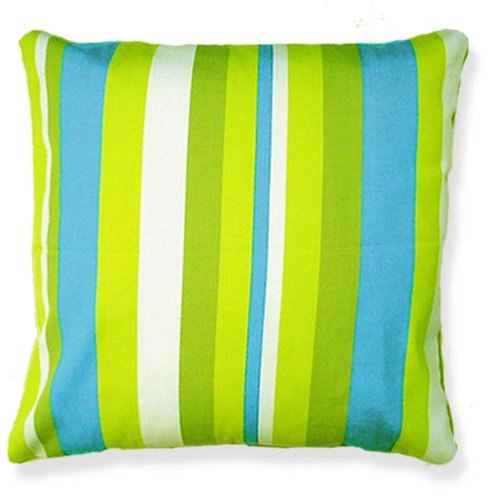 Beach Boulevard Stripe Pillow, 24x24, BB204CL
