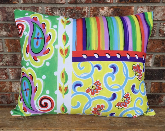 Fine and Dandy Pillow, FD, 19x24 only
