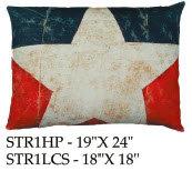 Star Pillow, STR1, 2 sizes