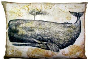 Whale Pillow, WHL, 2 sizes