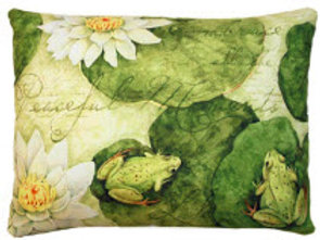 Lily Pad Pillow, FOLP, 2 sizes