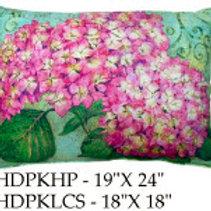 Pink Hydrangea Pillow, HDPK, 19x24 only