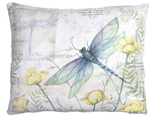 Dragonfly w/ Yellow Poppies, SW802, 2 sizes
