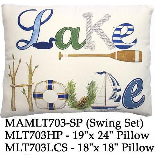 Lake House, MLT703, 2 sizes