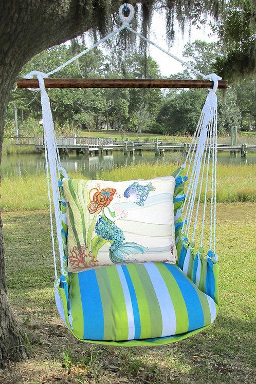 BB Swing Set w/ Mermaid,  BBRR702-SP