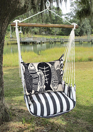 Fish Pillow and TB Swing Set, TBFS-SP