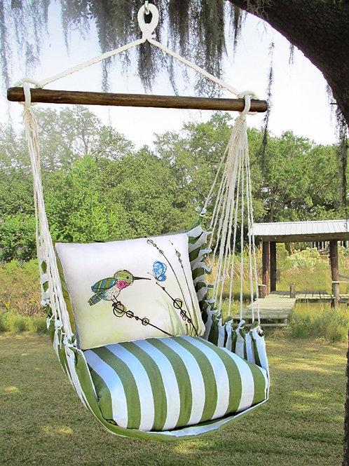 SP Swing Set w/ Hummingbird Pillow, SPRR606-SP