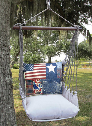 LT Swing Set w/ Patriotic Pillow, LTTC601-SP