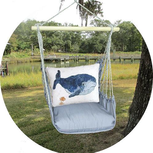 Whale Swing Set w/ Gray, GRRR810-SP