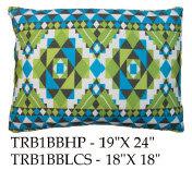 Tribal Pillow, TRB1BB, 2 sizes