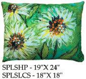 Flowers Pillow, SPLS, 2 sizes