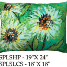 Flowers Pillow, SPLS, 2 sizes