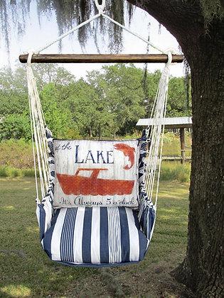 MA Swing Set w/ Lake Boat Pillow, MASW605-SP