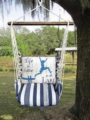 MA Swing Set w/ Lake Pier Pillow, MASW607-SP