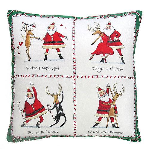 Dancing Santa 2, TC613LCS, 18x18