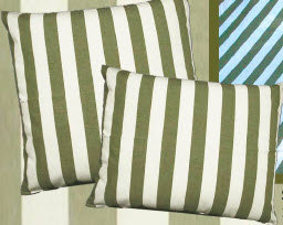 Summer Palms Fabric Pillow, SP127HP, 19x24