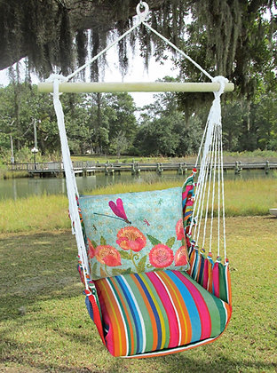 LJ Swing Set w/ Dragonfly Pillow, LJTC609 - SP