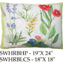 Flowers Pillow, SWHRB, 2 sizes