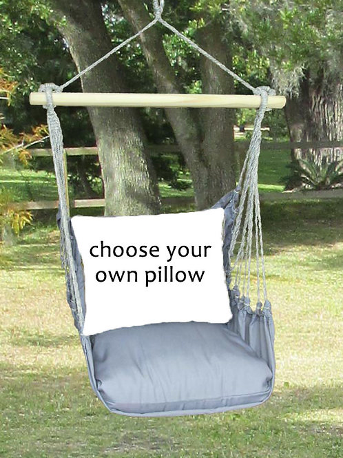 Gray Swing Set (Without Back Pillow)
