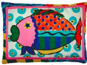 RB Pillow, Fish, VCLCS, 18x18