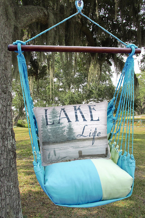 Lake Life with Pier Swing Set, MMSW202-SP
