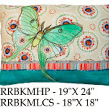 Butterfly Pillow, RRBKM, 2 sizes