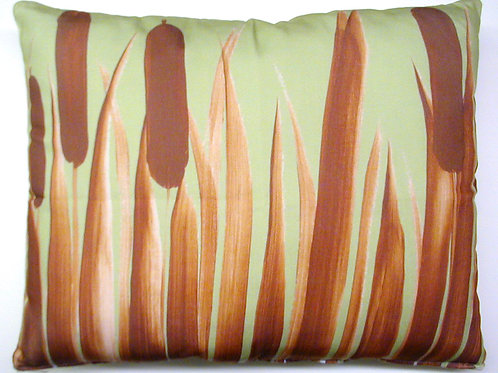 Cattails Pillow, CTMMHP, 19x24