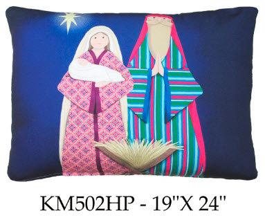 Manger Scene, KM502HP, 19x24