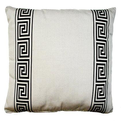 """Greek Key Pillow (Latte), GKLBHP, 19""""x24"""" only"""