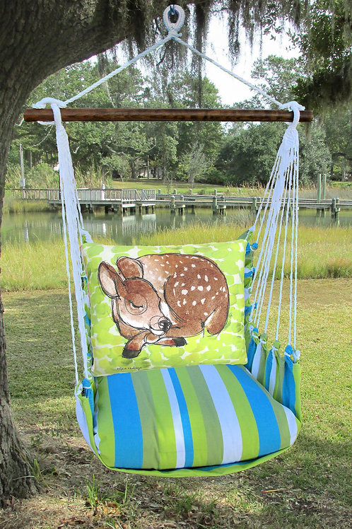 Sleeping Deer Swing Set,  BBRR906-SP