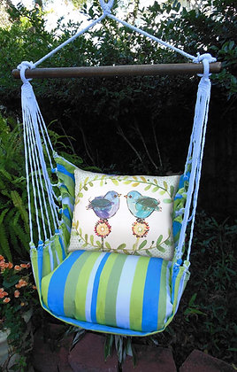 Beach Boulevard Swing Set, Blue Birds,  BBRR503-SP