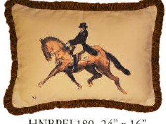 Horse Pillow, 24x16, HNBPEL180