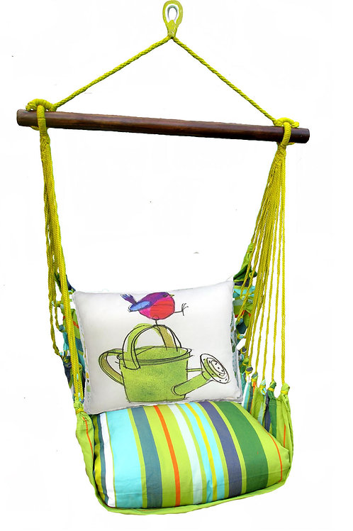 Citrus SwingSet w/ Bird & Watering Can, CTRR612-SP