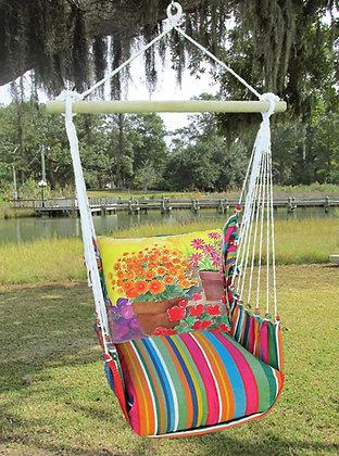 Flower Pot Bench Swing Set, LJBC603-SP