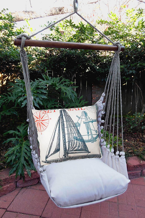 LT Swing Set w/ Sailboat Pillow, LTTC504-SP