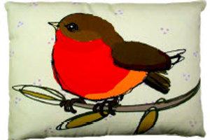SC Pillow, Red Robin, RWERLCS, 18x18