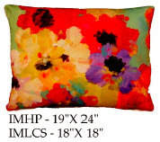 Flowers Pillow, IM, 2 sizes