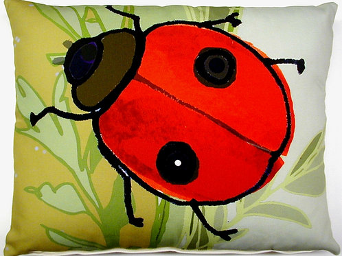 TB Pillow, Ladybug, RLBHP, 19x24