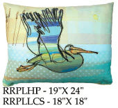 Pelican Pillow, RRPL, 18x18 only
