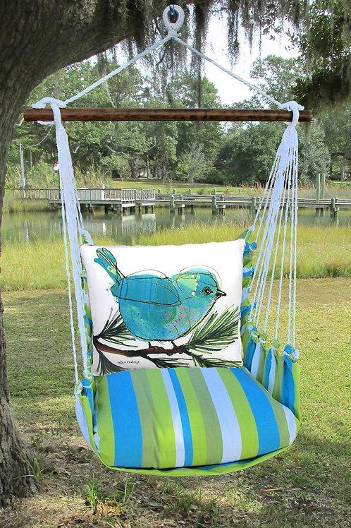 Bluebird on Branch Swing Set,  BBRR908-SP